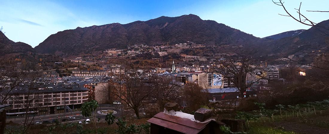 Panorámica Andorra la Vella