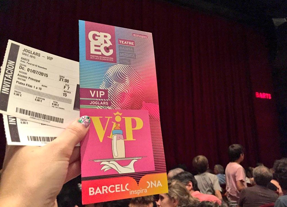 VIP Els Joglars Festival GREC