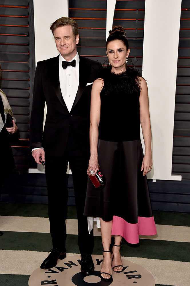Colin y Livia Firth Oscars 2016