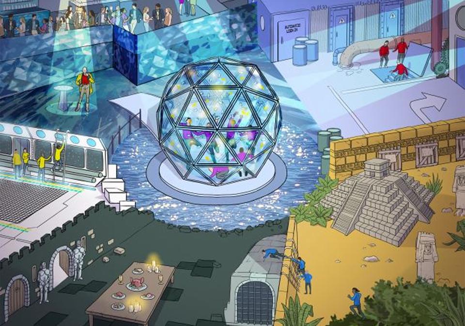 Crystal Maze 2016