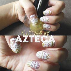 Nail Art 8 Azteca