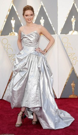 Lily Cole Eco Oscars 2016