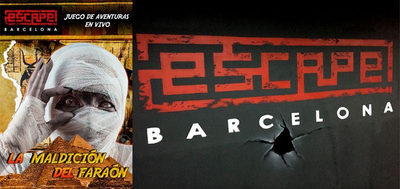Escape Barcelona Egipto