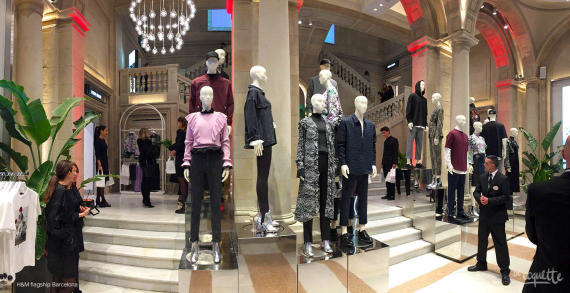 H&M flagship en el Edificio Generali