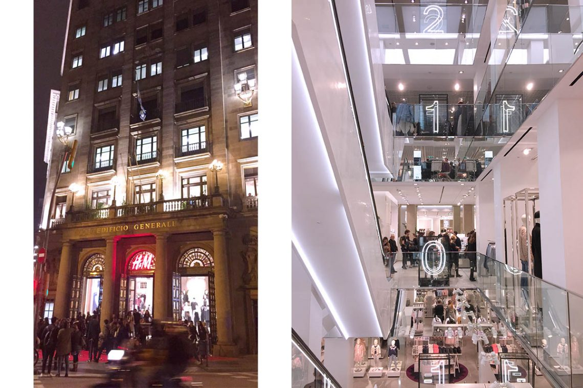 H&M Barcelona
