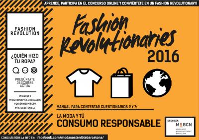 Fashion Revolutionaries 2016 Consumo Responsable