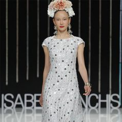 Isabel Sanchis Bridal Fashion Week 2016