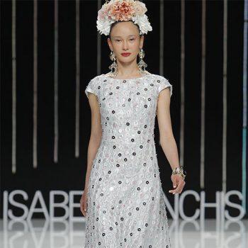 Isabel Sanchis Bridal Fashion Week 2016