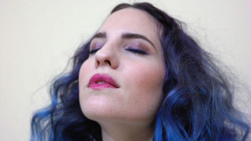 Rimmel London make-up - Kimono Tokyo Blues by la Coquette