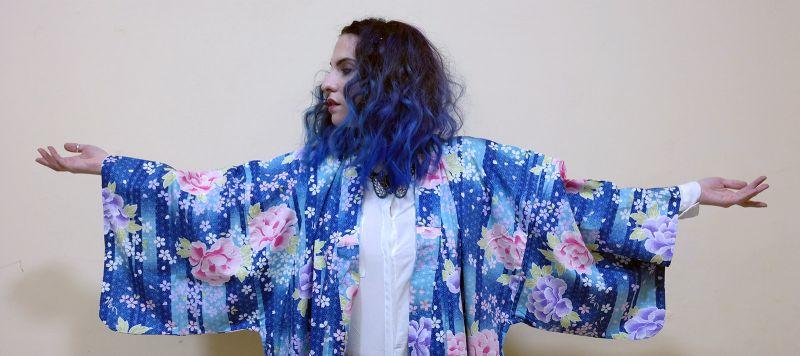 Yukata - Kimono Tokyo Blues by la Coquette