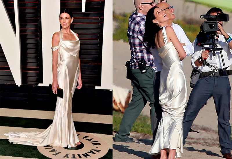 Liberty Ross Oscars and Wedding dress