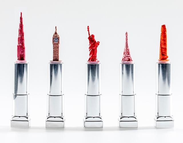 Los colores de pintalabios del mundo