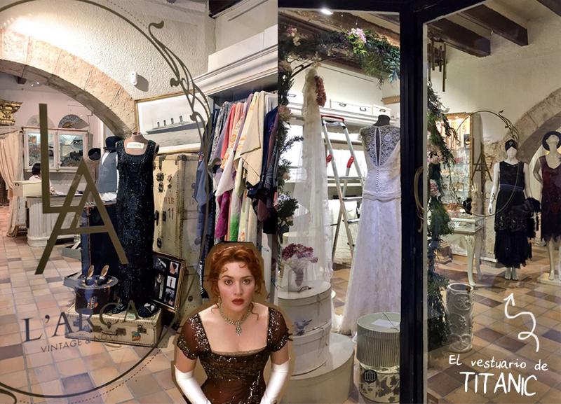 El vestuario de Titanic es de Barcelona