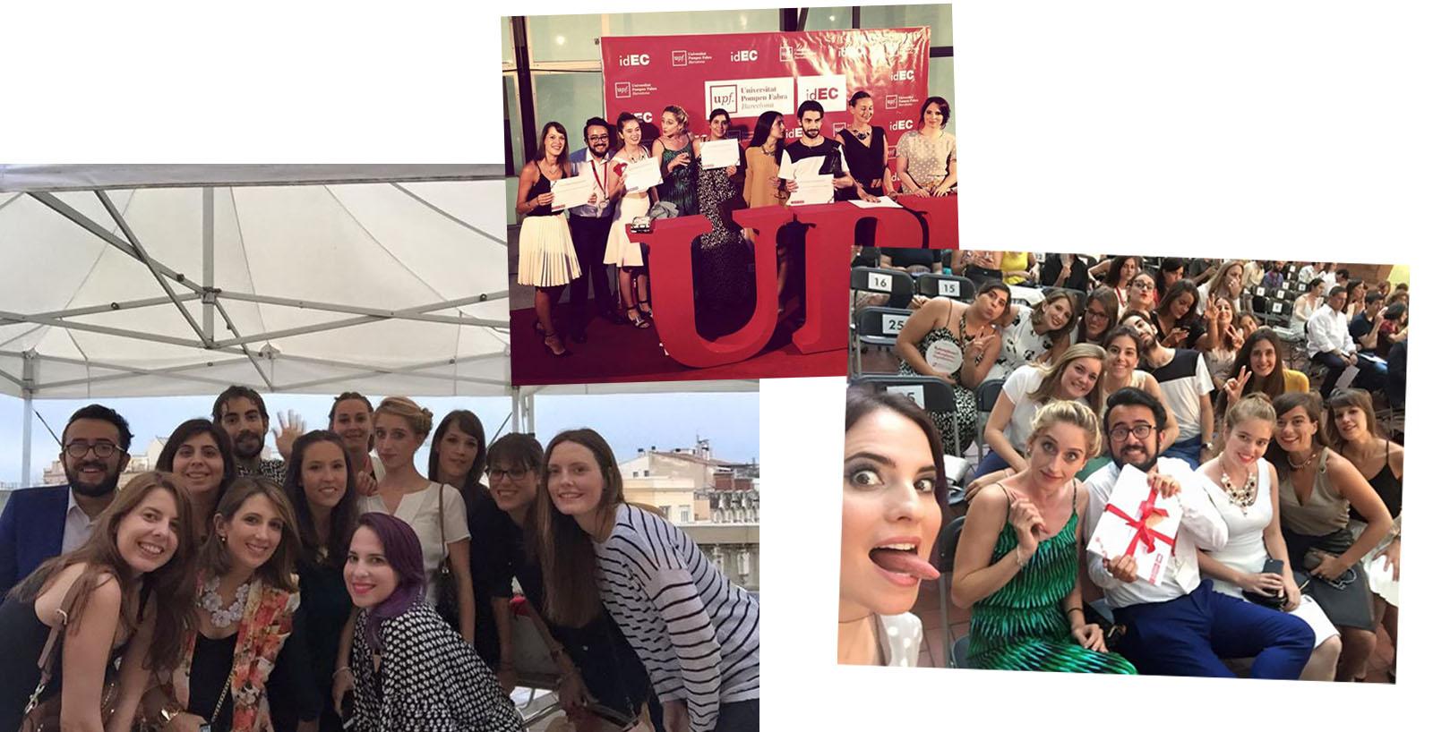 UPF y compañeros de moda