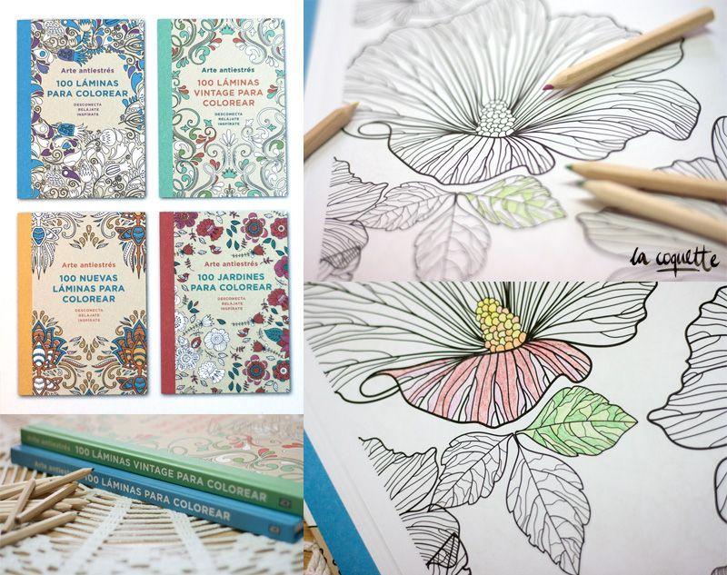 Contra el estrés, arte: 100 láminas para colorear para relajarse ...