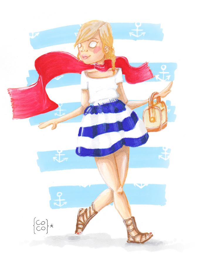 Imaginando que soy una marinera en la ciudad