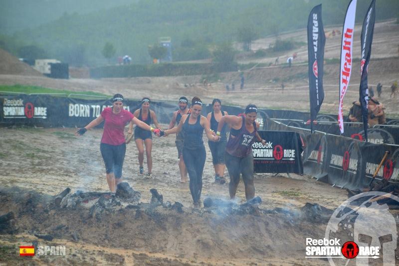 Spartan Race by la Coquette salto de fuego